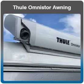 Thule Omnistor Cassette Caravan Awning for sale and fitted
