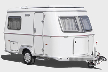 ERIBA Touring Familia, Triton and Troll Stucco Caravan