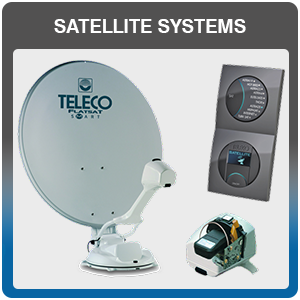Caravan, Camper Van & Motor Home Satellite Systems Fitted