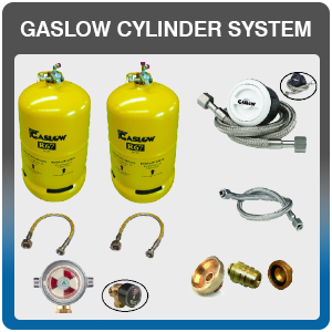 Gaslow Cylinder System avaibale to but and fit at Adventure Leisure Vehicles