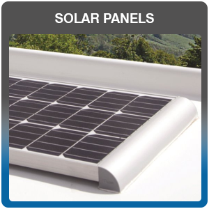 Caravan, Camper Van & Motor Home Solar Panels for sale and fitted
